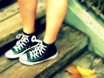 A Chuck Taylor... by domino-smile
