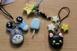 Keychains by Panda-Pong