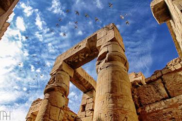 Temple of Karnak. by nader-tharwat