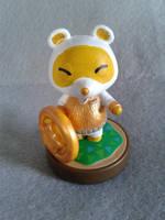 Custom Amiibo: Lucky Cat Tom Nook by SilverStarSheep