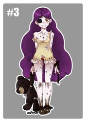 CLOSED Character Design Study - vampire #3 by FredericoEscorsin