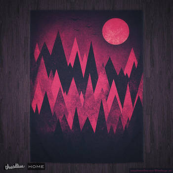 Dark Mystery Peak Wood's @threadless by mrsbadbugs