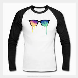 Psy Nerd Glasses x LSD/Acid Color Drops Lowpoly by mrsbadbugs