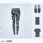 Acid Zebra! (leggings) @threadless by mrsbadbugs