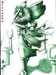 sketch 6 - Matsukyo by Ricsnake