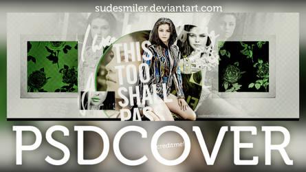 +Selena Gomez Psd Cover. by SudeSmiler