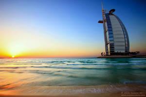 Burj Al Arab Sunset by hannajohn