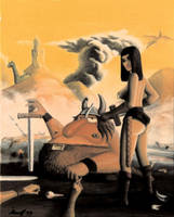 Zeca, the barbarian by Alvarossantos