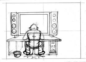 Cyber guy by Alvarossantos