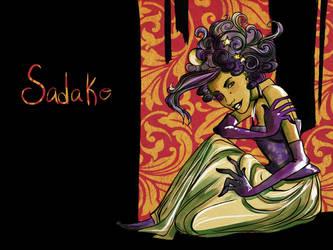 Sadako in Watercolors by rosalarian