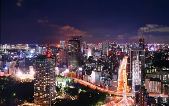 Tokyo Widescreen by logann