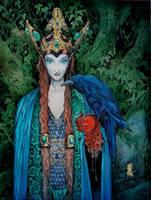 Morgan le Fay by Shiantu