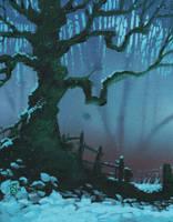 Winter Oak by Shiantu