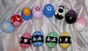 Shugo Chara Eggs by AmethystInk