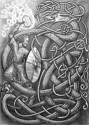 Ragnarok by Lariethene