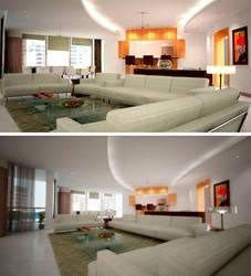 penthouse livingroom v1 by umutavci