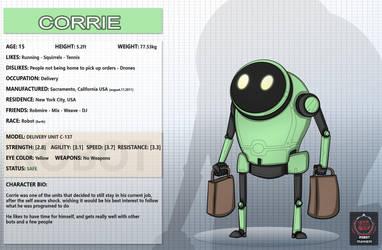 Corrie by RagingDroidX