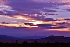 Desert sunset by AthenaIce