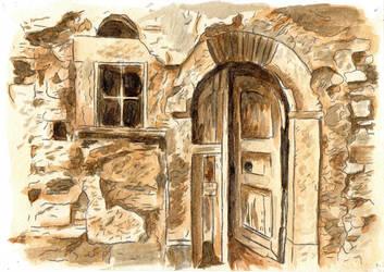 Old house by izmysli