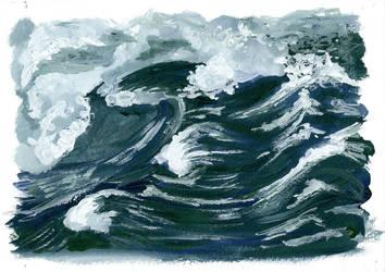 Storm waves by izmysli