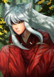 Inuyasha by Renciel