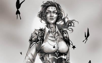 Jeanne d'Arc by TrydeSilence