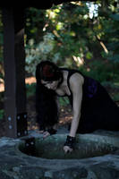 Stock - Goth At The Well by Mahafsoun