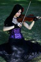 Stock - Playing The Violin by Mahafsoun