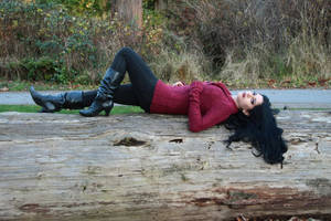 Stock - She Lays Down by Mahafsoun