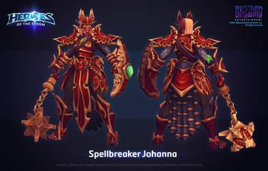 HOTS Spellbreaker Johanna by ArtDoge