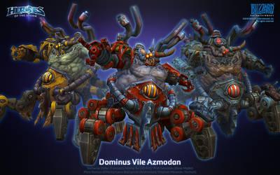Dominus Vile Azmodan by ArtDoge