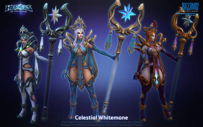 Celestial Whitemane by ArtDoge