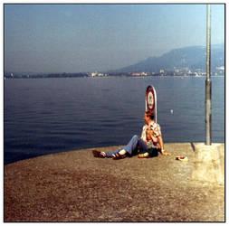 Break at the lake by Hank0r