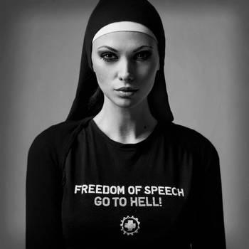 Freedom of speech_02 by hellwoman