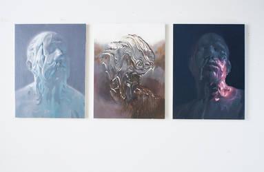 Triptych by alifann