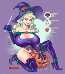 Pumpkin Diana! by supersatanson
