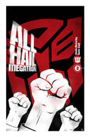 All Hail Megatron Cover 8 by trevhutch