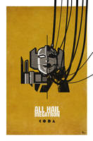 All Hail Megatron cover 14 by trevhutch