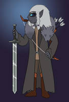 DnD - Drow Barbarian by Snowbound-Becca