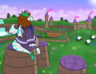 Spyro Fan Art - Artisan's Home by Snowbound-Becca