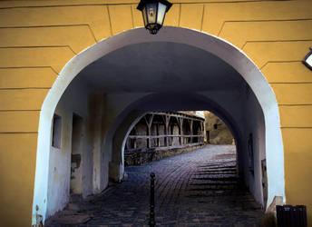 Sighisoara, medieval town. by zteemee
