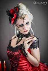''Dark Steam'' - Madame Red by FreyaLunacy