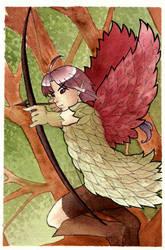Mahoujo Dark Goblin Archer by KoriMichele