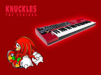 Sonic Synthesizers: Knuckles by Mennomoog
