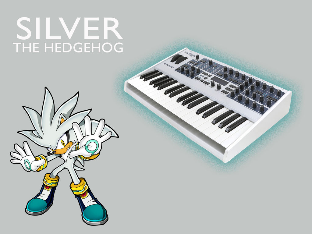 Sonic Synthesizers: Silver by Mennomoog