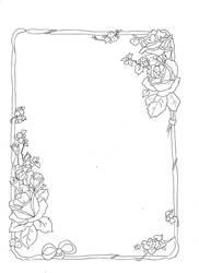 rose border 2 by Horror-of-Pavlov