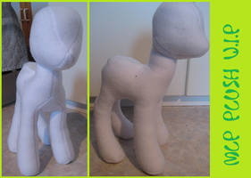 Remake MLP Plush WIP by Funoccorono