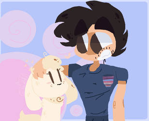 Puppy Love: Hiatusiplier Day 3 - Chica by GlittrGutzz