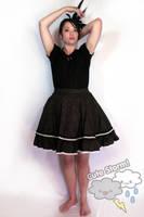 Black cherry egl skirt by The-Cute-Storm