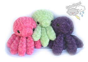 Jumbo Octopus plush by The-Cute-Storm